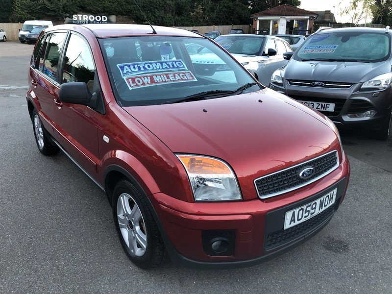 used Ford Fusion Zetec in rochester-kent