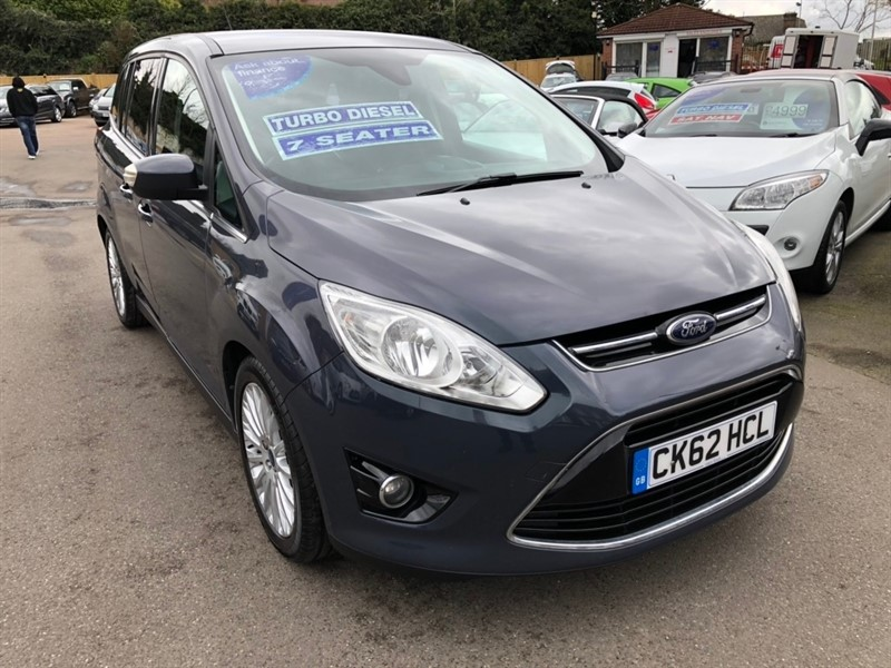 used Ford Grand C-Max TDCi Titanium 5dr (7 Seats) in rochester-kent