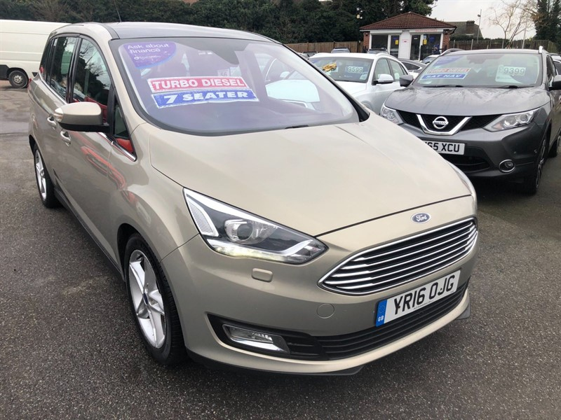 used Ford Grand C-Max Titanium X (s/s) in rochester-kent