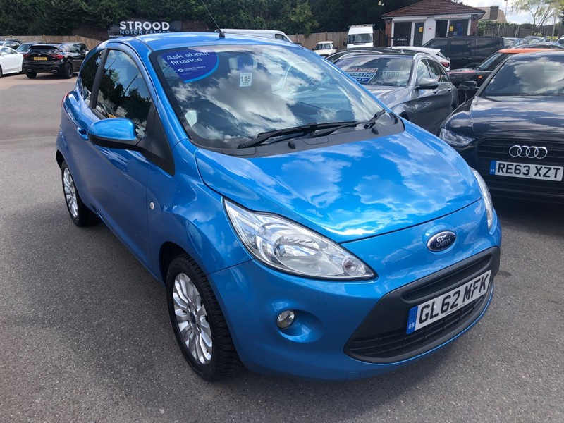 used Ford KA 1.2 Zetec (s/s) in rochester-kent