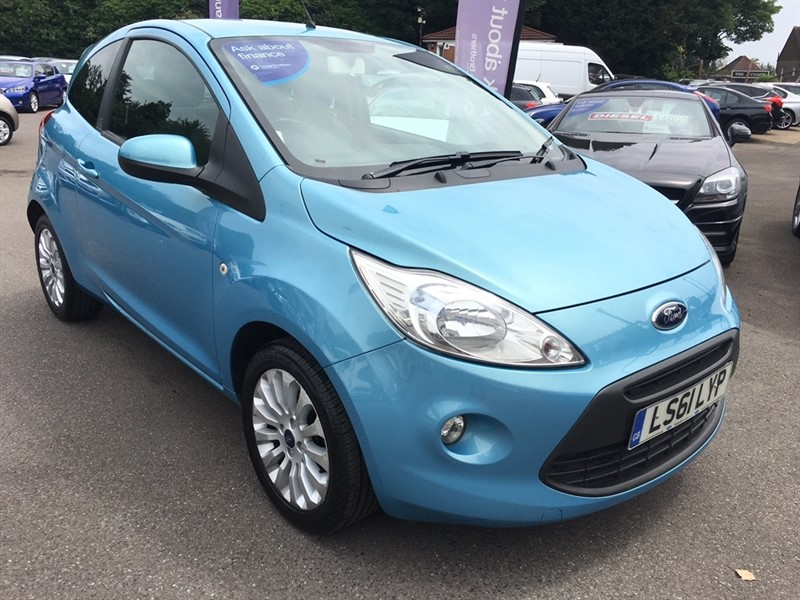 used Ford KA 1.2 Zetec 3dr (start/stop) in rochester-kent