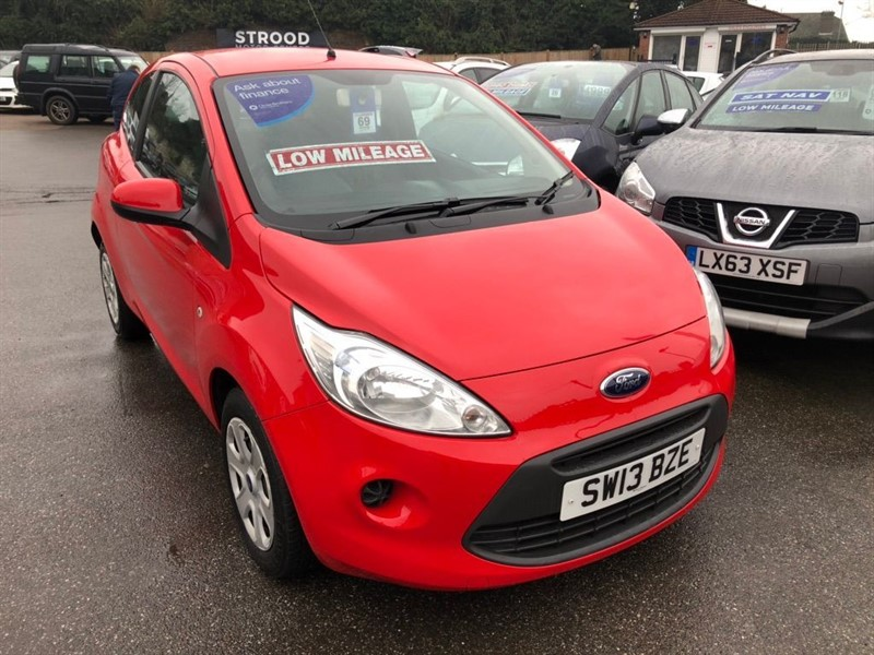 used Ford KA 1.2 Edge (s/s) 3dr in rochester-kent