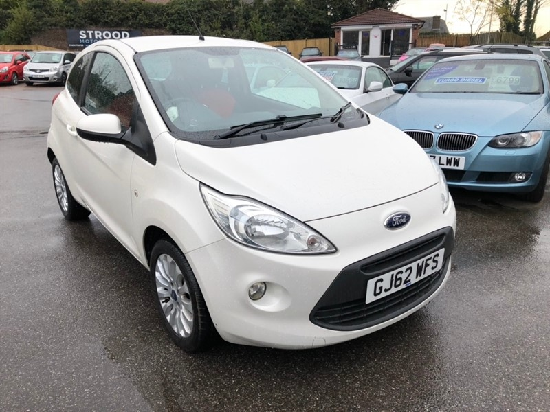 used Ford KA 1.2 Zetec (s/s) 3dr in rochester-kent