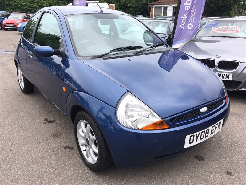 used Ford KA Zetec Climate 3dr in rochester-kent