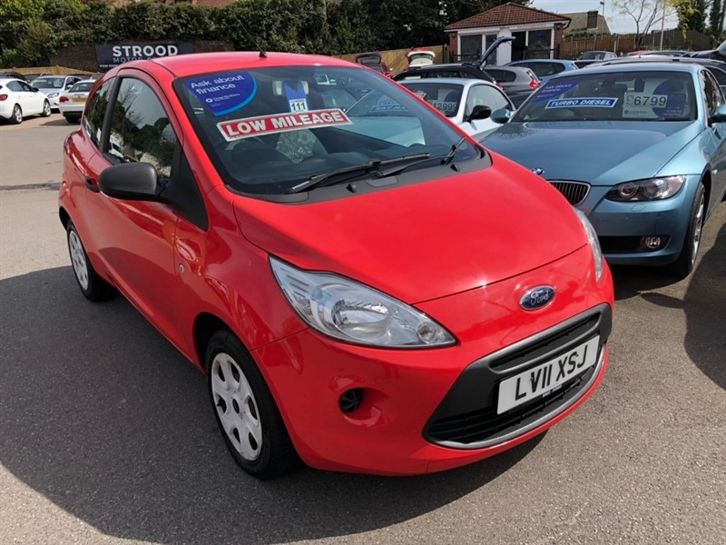used Ford KA 1.2 Studio (s/s) 3dr in rochester-kent