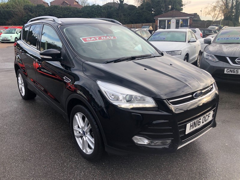 used Ford Kuga Titanium X in rochester-kent
