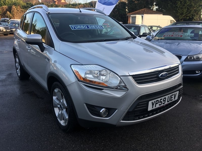 used Ford Kuga TDCi Zetec 5dr in rochester-kent