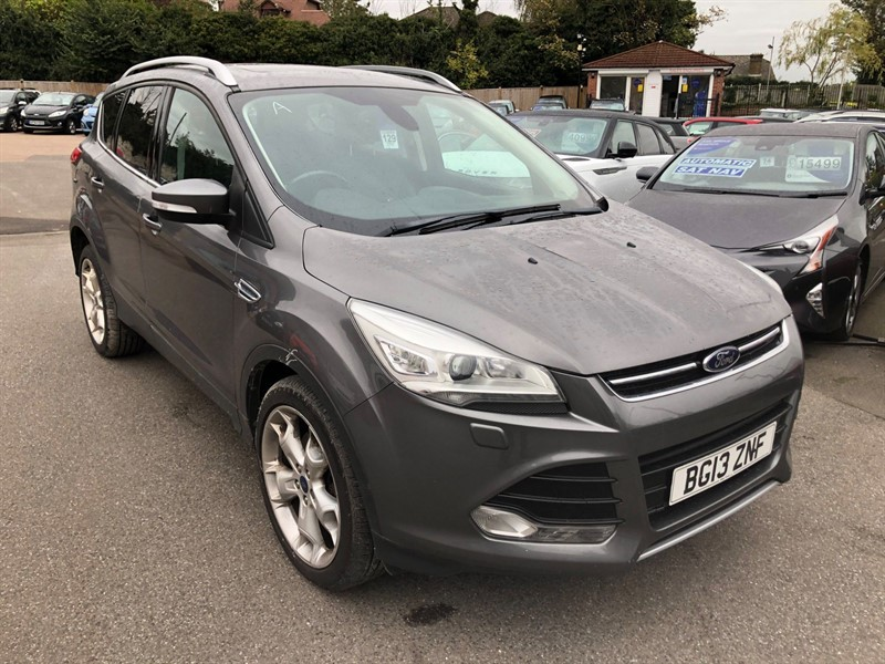 used Ford Kuga Titanium X AWD in rochester-kent