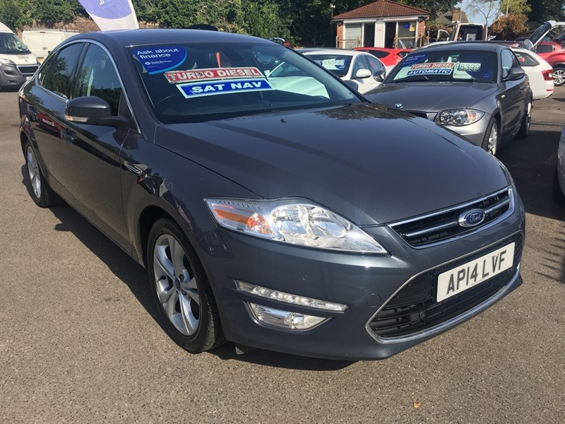 used Ford Mondeo TDCi ECO Titanium X Business 5dr in rochester-kent