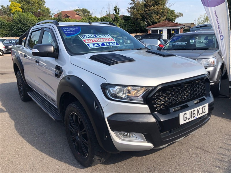 used Ford Ranger Wildtrak Double Cab Pickup Auto 4WD in rochester-kent