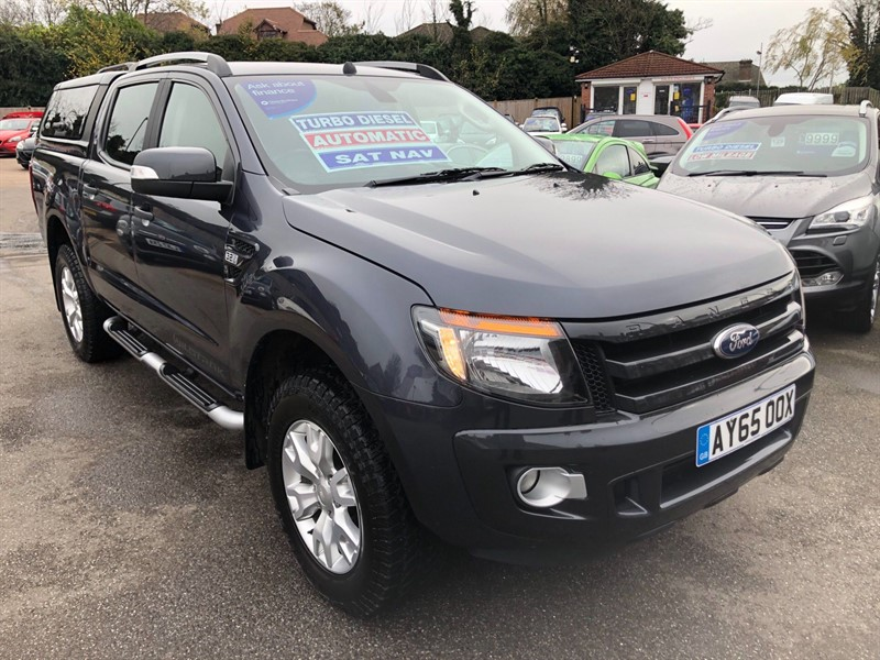 used Ford Ranger Wildtrak Double Cab Pickup 4x4 (EU5) in rochester-kent