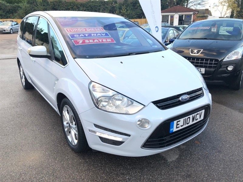 used Ford S-Max TDCi Titanium 5dr in rochester-kent