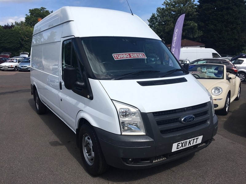 used Ford Transit TDCi 350 LWB High Roof Duratorq 3dr in rochester-kent