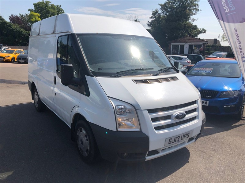 used Ford Transit 280 Medium Roof Van S (EU5, SWB) in rochester-kent