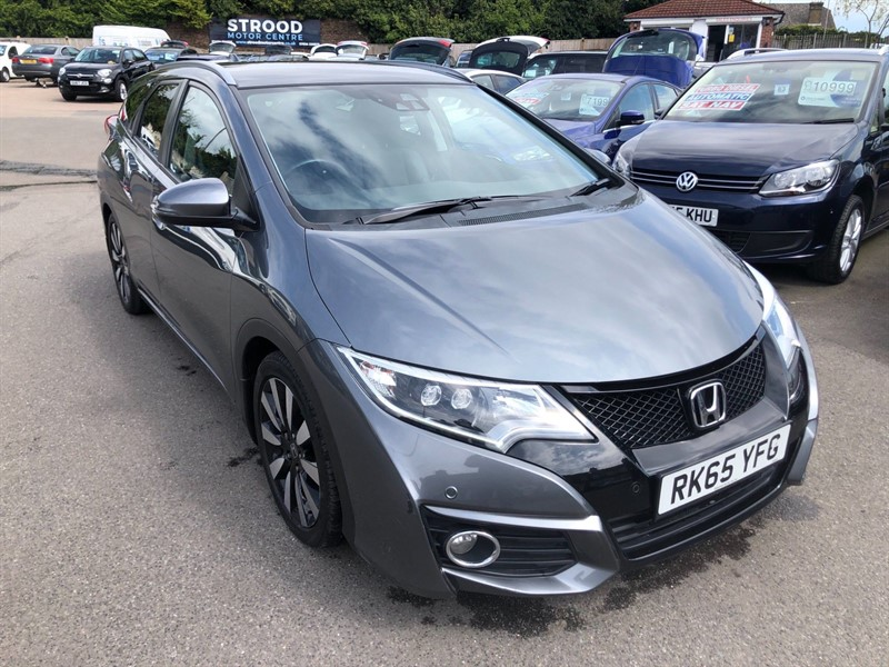 used Honda Civic EX Plus Tourer Auto in rochester-kent