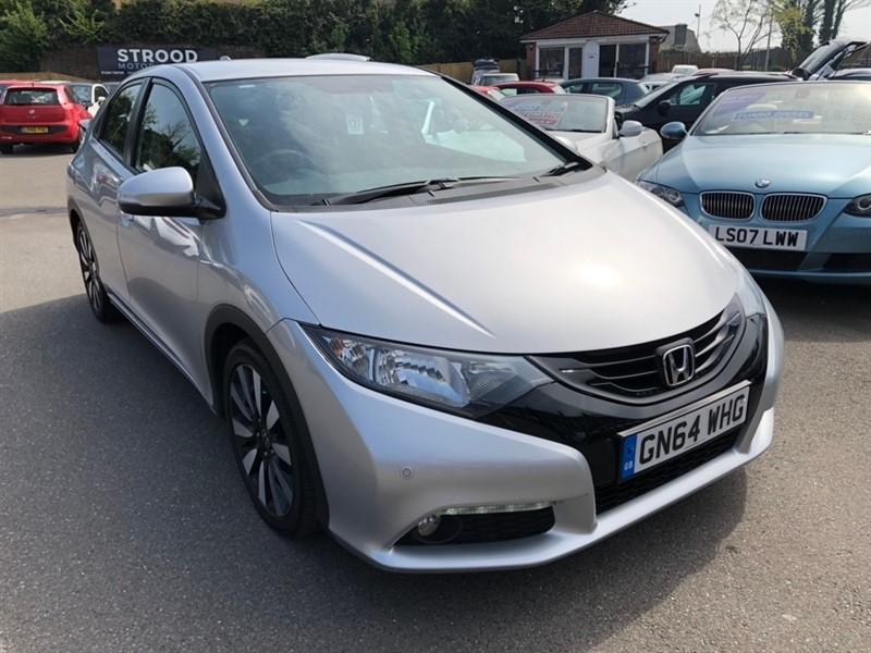used Honda Civic i-VTEC SE Plus 5dr (dab, premium audio) in rochester-kent