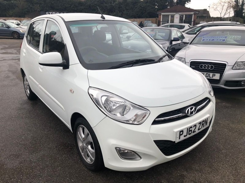 used Hyundai i10 1.2 Active 5dr in rochester-kent