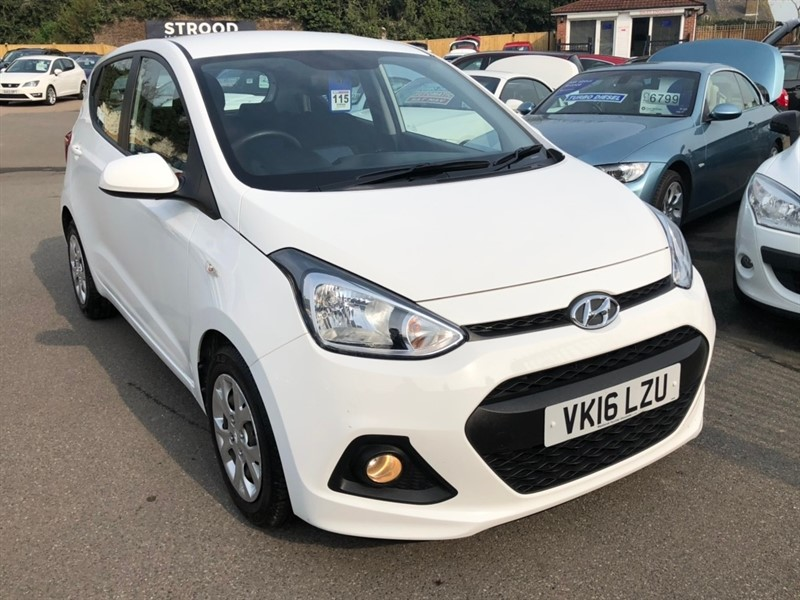 used Hyundai i10 Blue Drive SE 5dr (ISG) in rochester-kent
