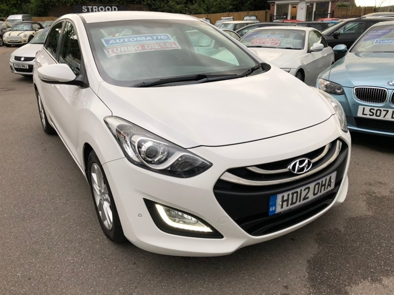used Hyundai i30 CRDi Style 5dr in rochester-kent