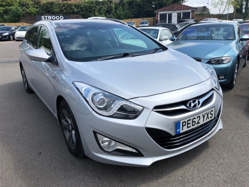 used Hyundai i40 CRDi Blue Drive Premium 5dr (ISG) in rochester-kent