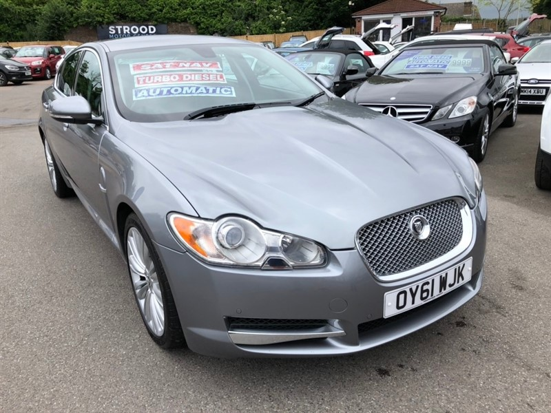 used Jaguar XF TD V6 Premium Luxury 4dr in rochester-kent