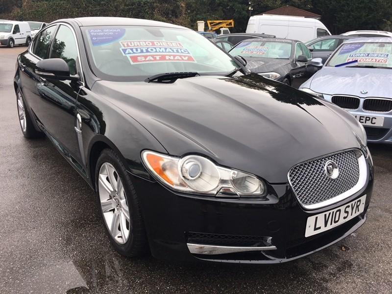 used Jaguar XF TD V6 Luxury 4dr in rochester-kent