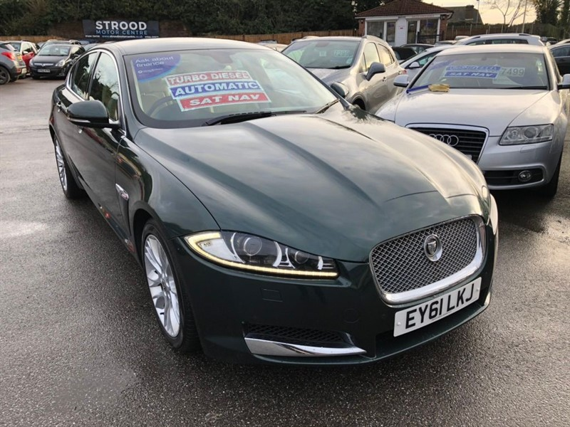 used Jaguar XF TD Luxury 4dr in rochester-kent