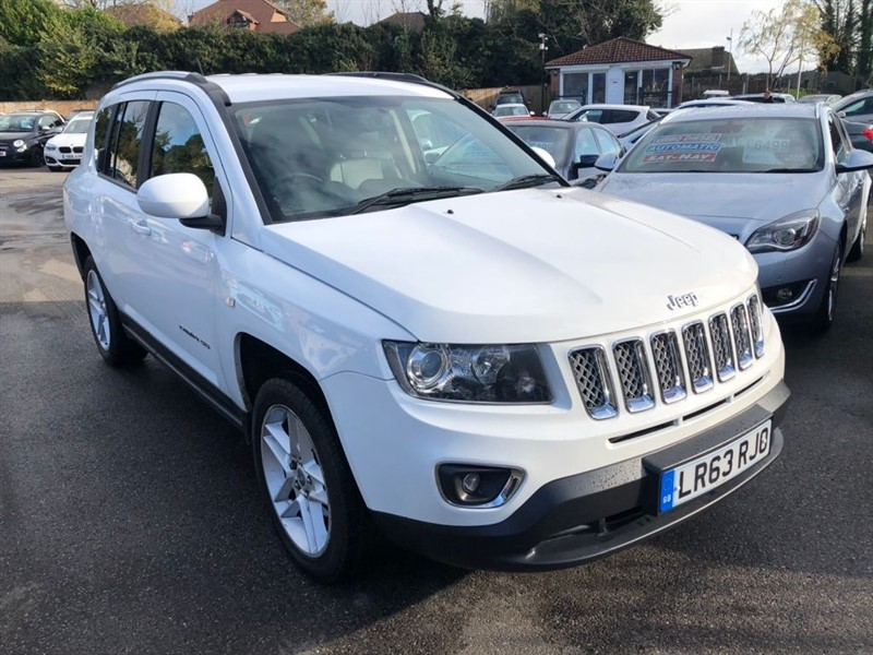 used Jeep Compass 2.2 CRD Limited 4x4 5dr in rochester-kent