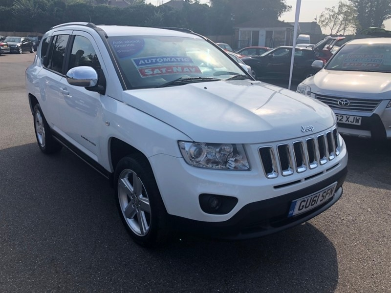 used Jeep Compass Limited CVT 4WD 5dr in rochester-kent