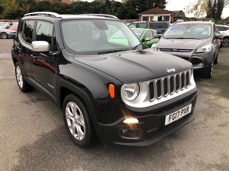 used Jeep Renegade MultiJetII Limited DDCT (s/s) in rochester-kent