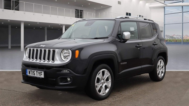 used Jeep Renegade MultiJetII Limited Auto 4WD (s/s) in rochester-kent