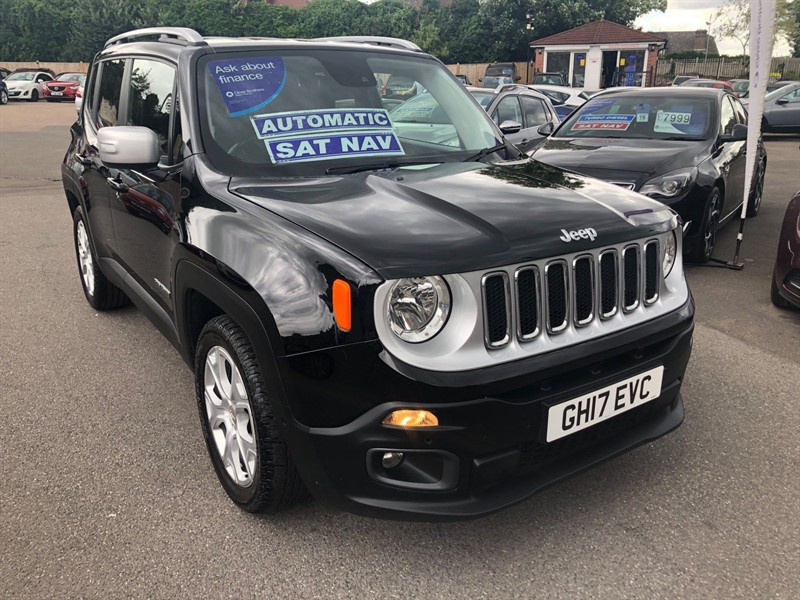 used Jeep Renegade 1.4T MultiAirII Limited DDCT (s/s) in rochester-kent
