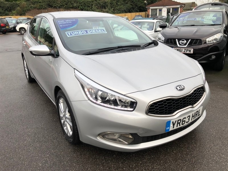 used Kia Ceed CRDi 2 5dr in rochester-kent