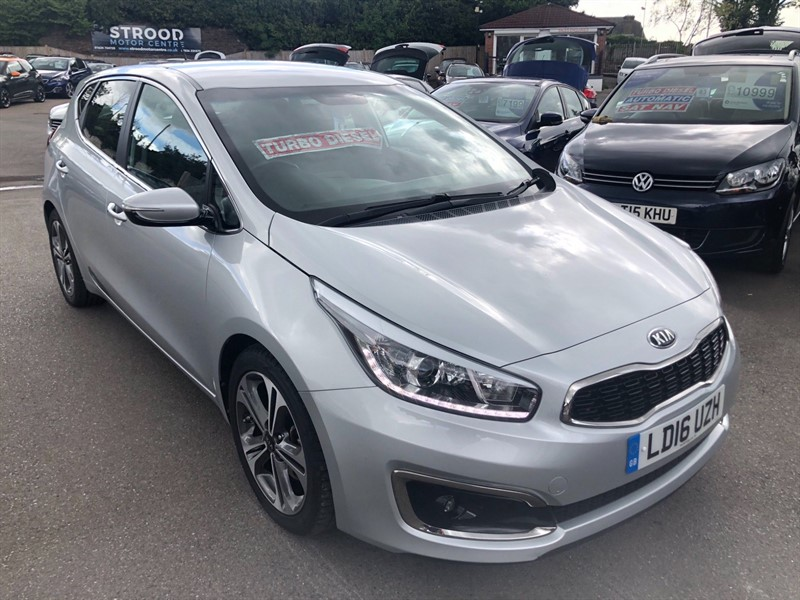 used Kia Ceed 4 (s/s) in rochester-kent