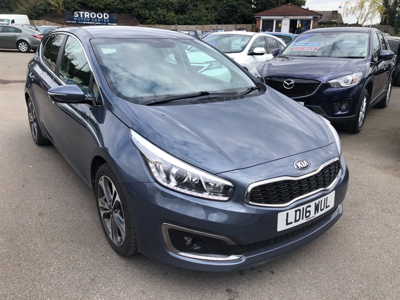 used Kia Ceed 4 DCT (s/s) in rochester-kent