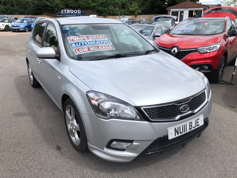 used Kia Ceed 3 in rochester-kent