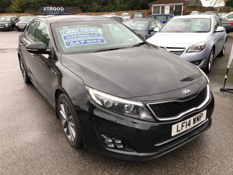 used Kia Optima CRDi 3 4dr in rochester-kent
