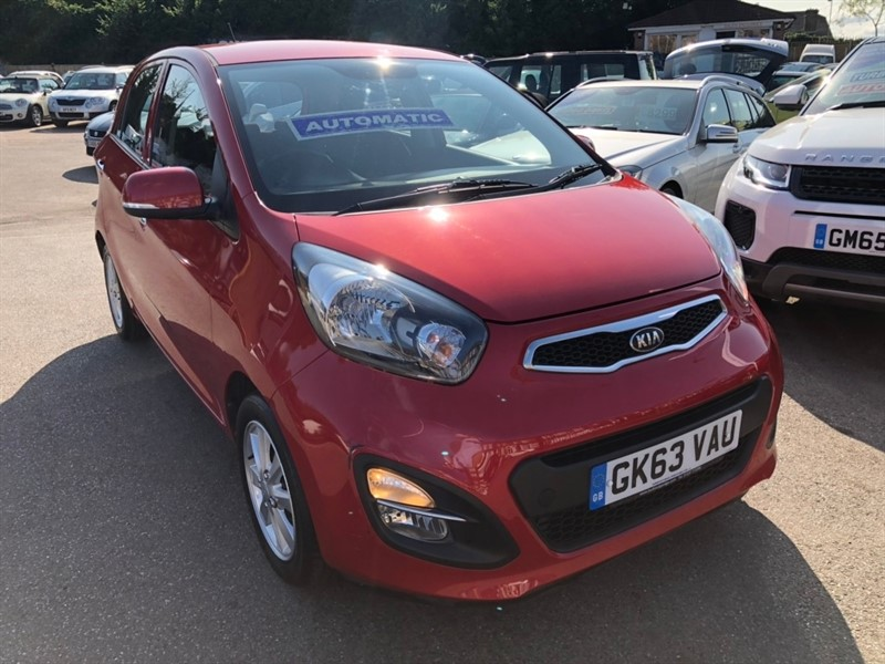 used Kia Picanto 2 5dr in rochester-kent
