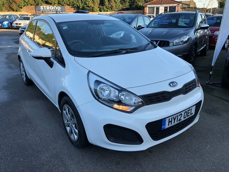 used Kia Rio 1 Air 3dr in rochester-kent
