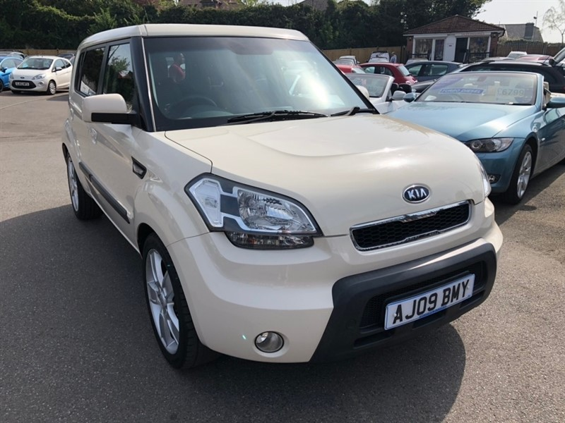 used Kia Soul Shaker 5dr in rochester-kent