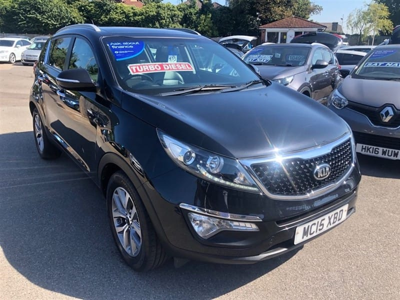 used Kia Sportage 2 (s/s) ISG in rochester-kent