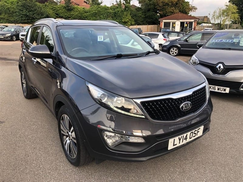 used Kia Sportage 4 (s/s) ISG in rochester-kent