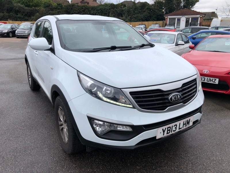 used Kia Sportage CRDi 1 2WD 5dr in rochester-kent