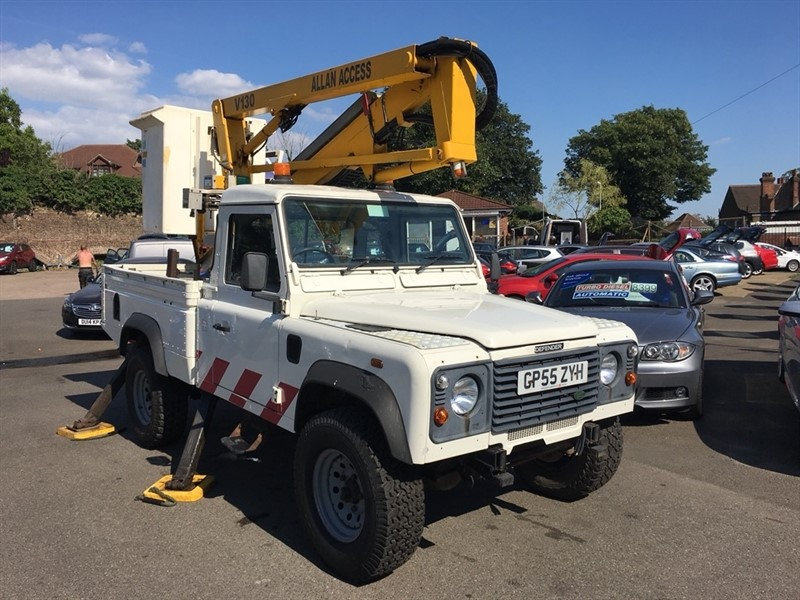 used Land Rover Defender 110 TD5 Pick-Up 2dr (High capacity) in rochester-kent