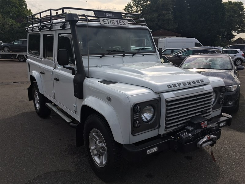 used Land Rover Defender 110 D XS Station Wagon 5dr in rochester-kent