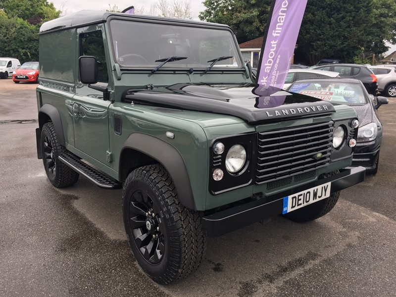 used Land Rover Defender 90 TDi Hard Top 3dr in rochester-kent