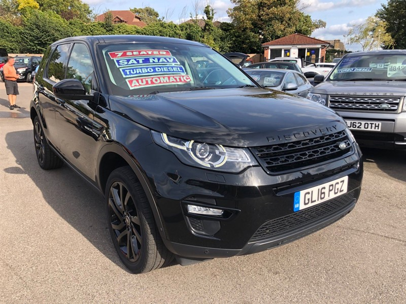 used Land Rover Discovery Sport TD4 HSE Luxury Auto 4WD (s/s) in rochester-kent