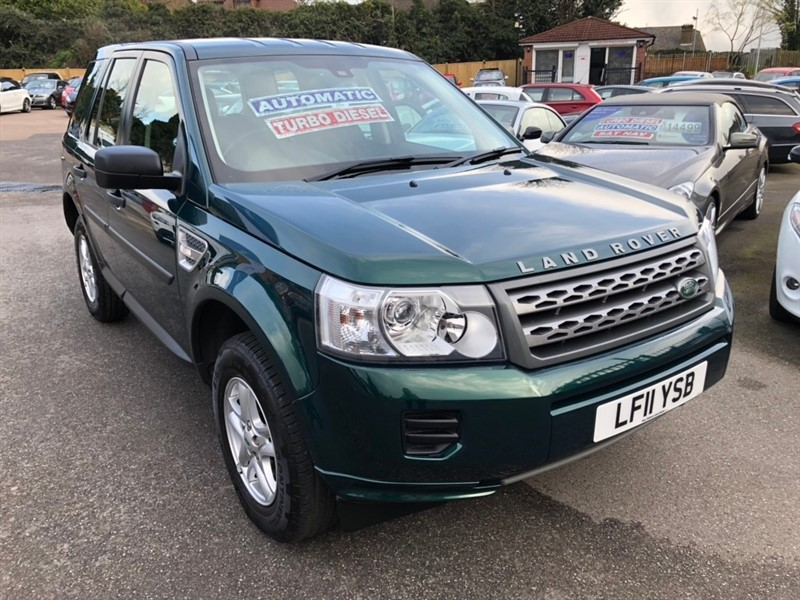 used Land Rover Freelander 2 TD4 S 4X4 5dr in rochester-kent