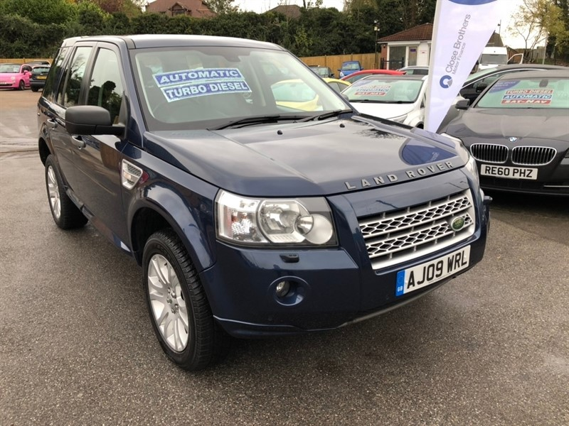 used Land Rover Freelander 2 TD HSE Commandshift 4X4 5dr in rochester-kent