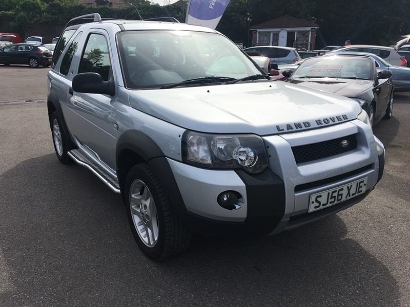 used Land Rover Freelander TD4 Freestyle Hard Top 3dr in rochester-kent